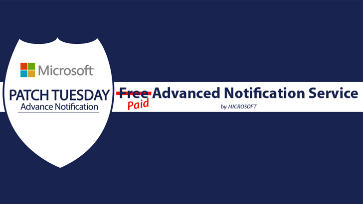 Microsoft Kills Public Patch Tuesday Advance Notifications; Now for Paid Members Only