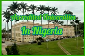List of all Accredited Federal universities in Nigeria