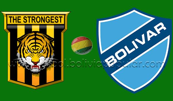The Strongest vs. Bolívar - En Vivo - Online - Semifinal - Torneo Apertura 2018