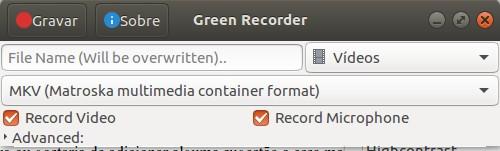Green Recorder Ubuntu