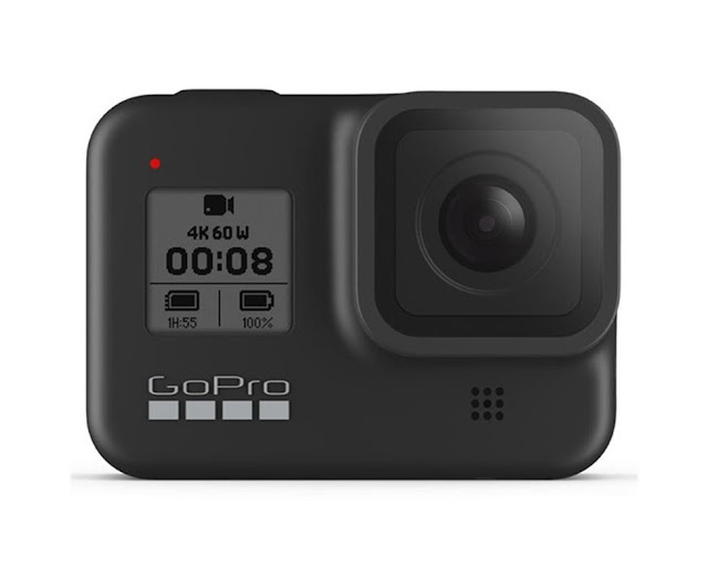 The GoPro Hero 8 Black is small with stabilisation and a selfie screen