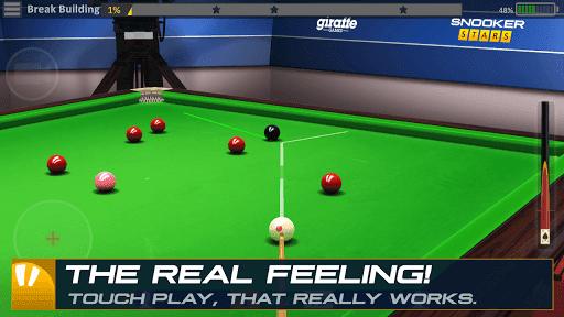 โหลดเกมส์ APK Snooker Stars Hack โกง