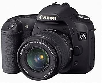 Canon EOS 30D DSLRファームウェアのダウンロード