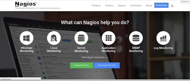 Nagios , best IT infra system server monitoring tool