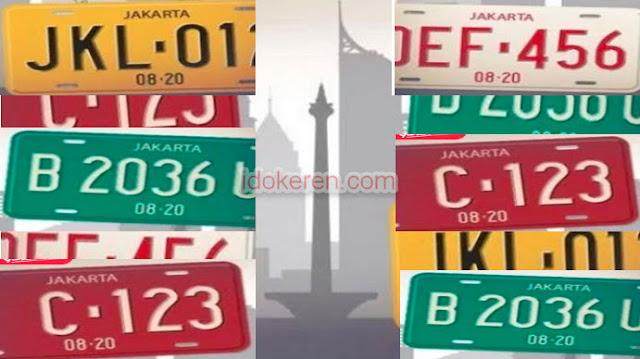 Kode Plat Nomor Kendaran seluruh Indonesia