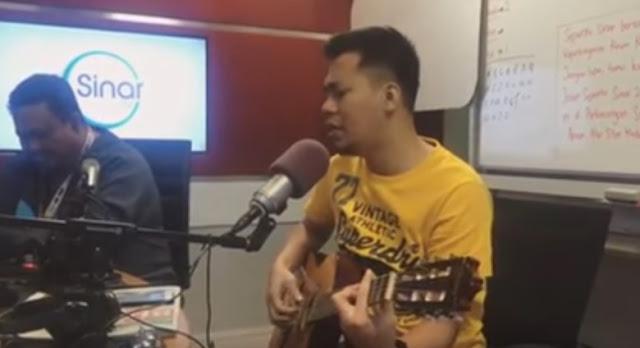 Jep Sepah Main Gitar, Syahdu Beb!
