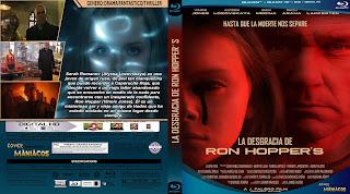 CARATULA LA DESGRACIA DE RON HOPPER´S - RON HOPPER´S MISFORTUNE 2020[COVER BLU-RAY]