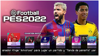 Download PES 2022 PPSSPP Android Realistic Faces New Boots & New Updated Team And PS5 Logo