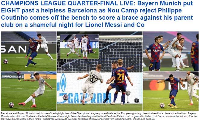 """Barcelona thảm bại 2-8: Báo Tây Ban Nha chê cười """"nỗi nhục chưa từng có"""" 4"""