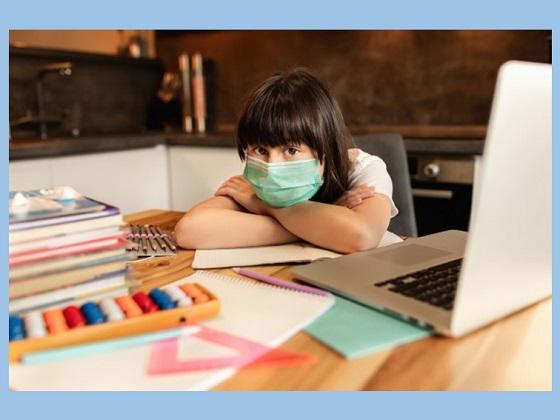 pembelajaran dilakukan dengan daring atau online