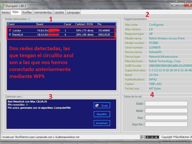 tutorial: Como Administar tus redes wifi con Dumpper