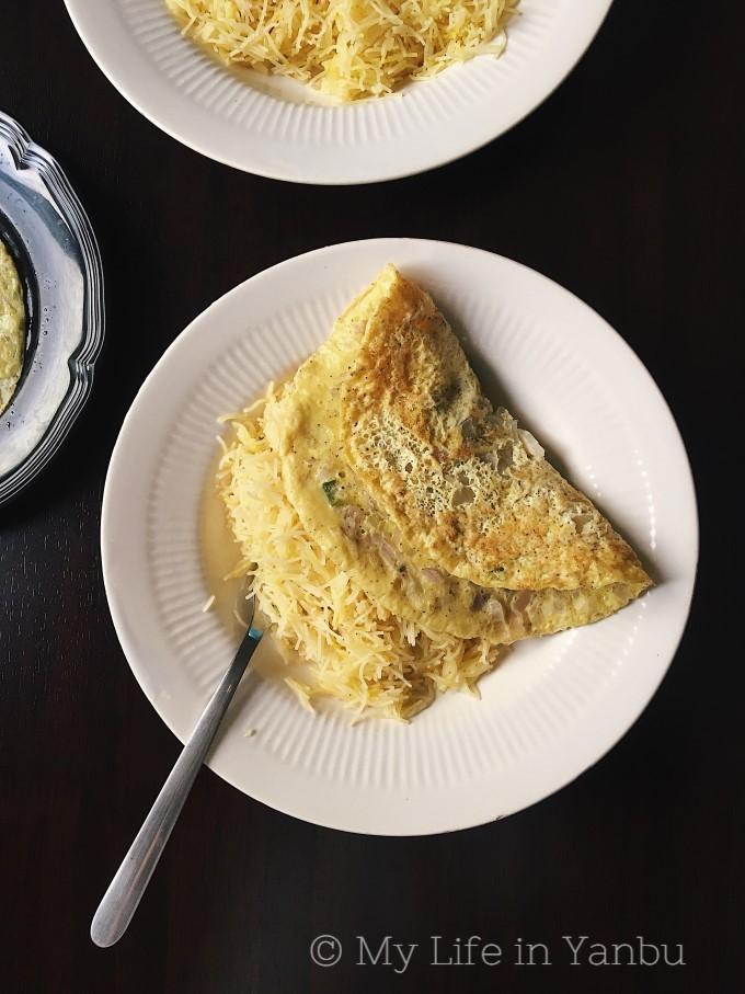 Balaleet   Middle Eastern Breakfast Dish