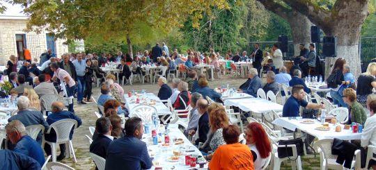 Θεσπρωτία: Με επιτυχία η γιορτή μοσχαριού στον Τσαμαντά