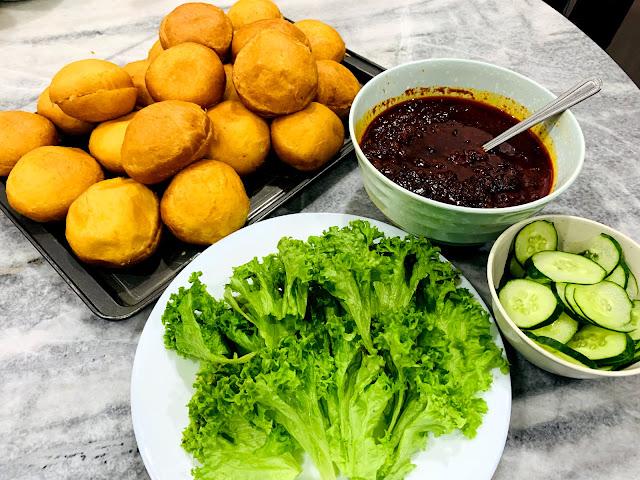 bahan-bahan buat burger malaysia