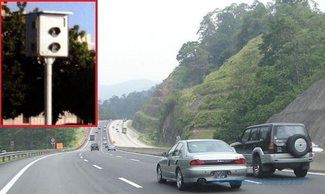Senarai Lokasi Kamera 'Speed Trap' Di Lebuh Raya Malaysia