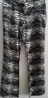 calça animal print Barred's tam M