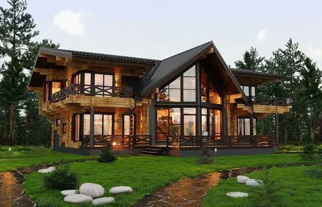 Finnish house in all its glory