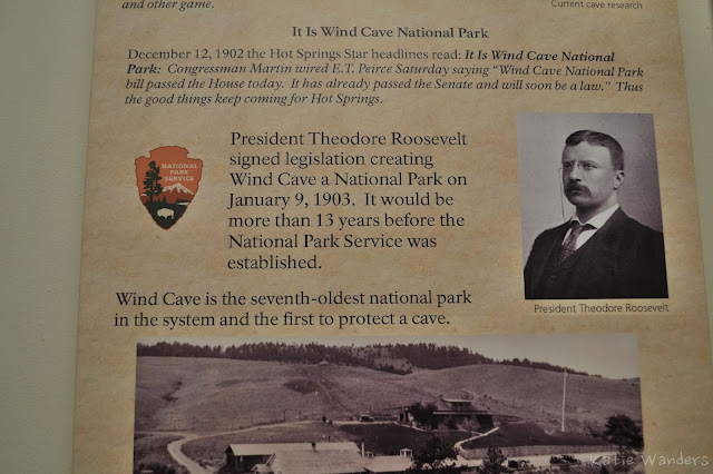 Wind Cave Park History