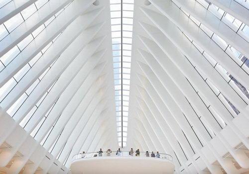 Tinuku.com Oculus World Trade Center Desain Santiago Calatrava Difoto Hufton + Crow