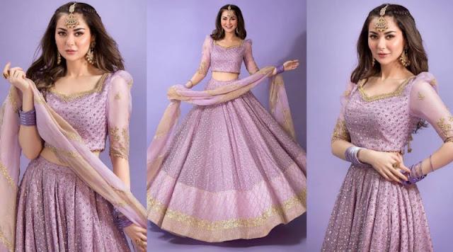 Hania Amir Photoshoot in Lehnga Choli is Bridal Inspiration