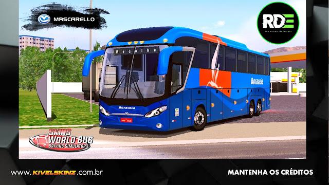 MASCARELLO ROMA R8 - VIAÇÃO BORACEIA