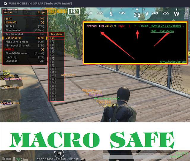 MACRO SAFE 100% | PUBG MOBILE 0.16