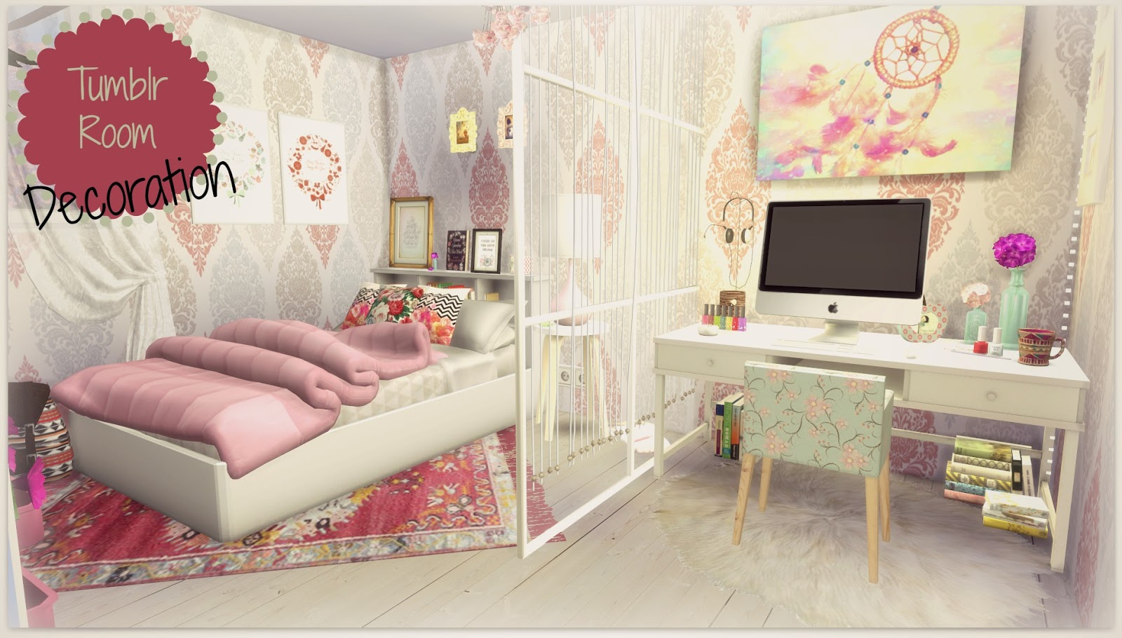 Sims 4 Tumblr Room