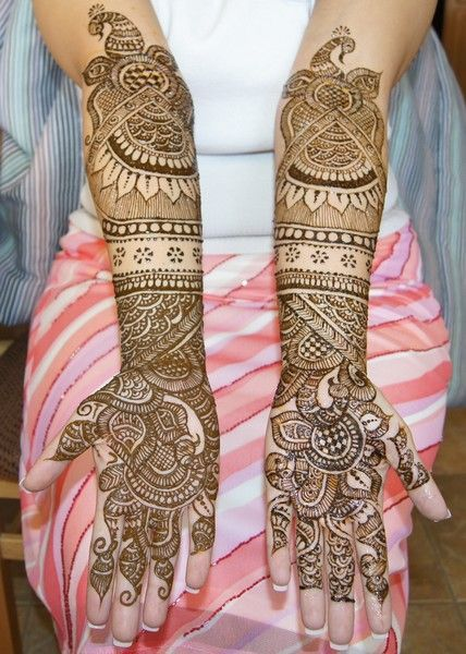 Karwa Chauth Mehndi Designs For Both Full Hands