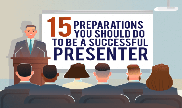 15 Preparations You Should Do to Become a Successful Presenter #infographic