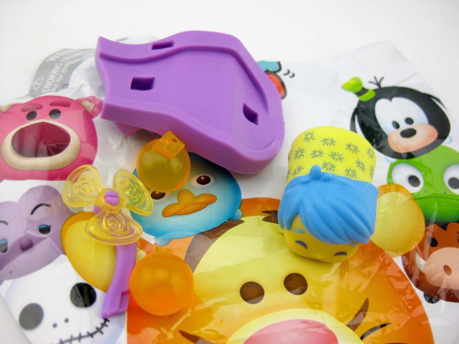 Disney Tsum Tsum Mystery Stack Packs Jakks Pacific Series 4 joy