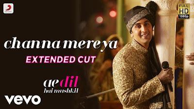 Channa Mereya Lyrics - Arijit Singh - Hindi Songs Lyrics