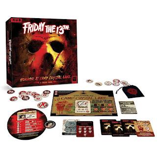 friday the 13th horror at camp crystal lake el juego de mesa
