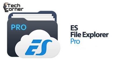 تحميل برنامج ES File Explorer Pro للأندرويد برايط مباشر