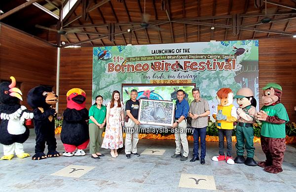 Opening Borneo Bird Festival 2019