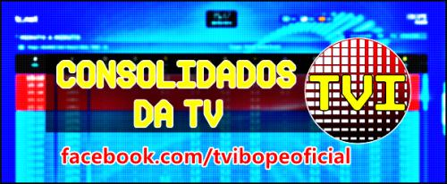 IBOPE CONSOLIDADO E MÉDIA DIA DAS EMISSORAS DE TV ONTEM (16/07)