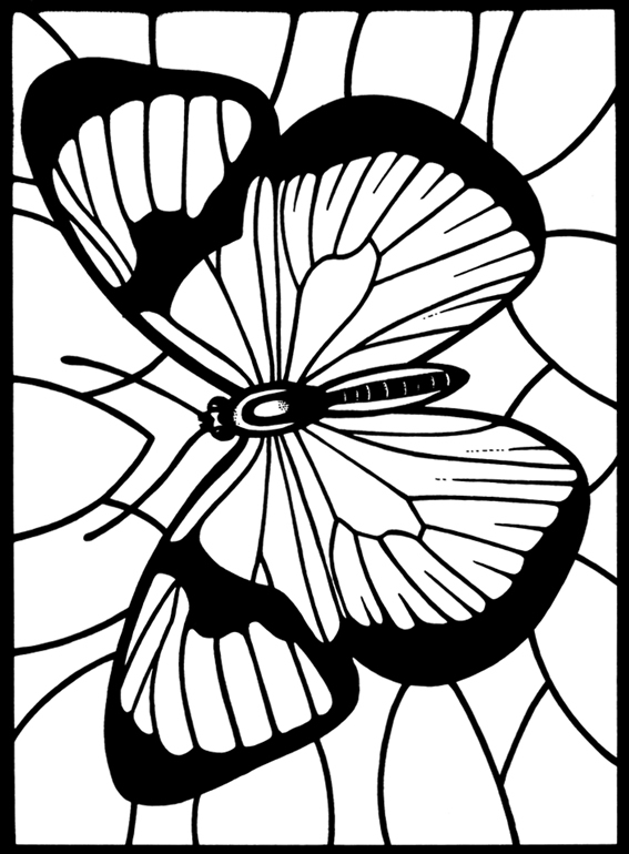 EXPOSE HOMELESSNESS: COLOR ME BUTTERFLY (THREE)