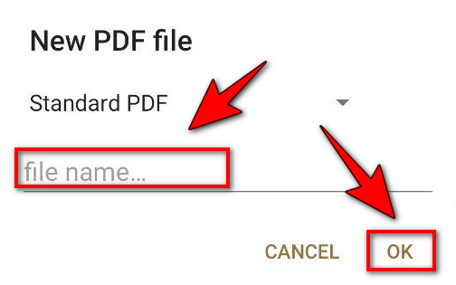 फाइल कैसे बनाये