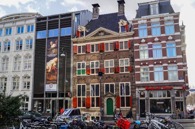 Casa de Rembrandt em Amsterdã na Holanda