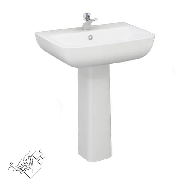 طقم حمام ليسيكو أبيض موديل دياموند