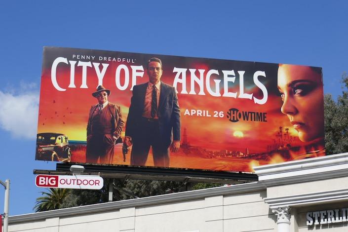 Penny Dreadful City Of Angels series billboard