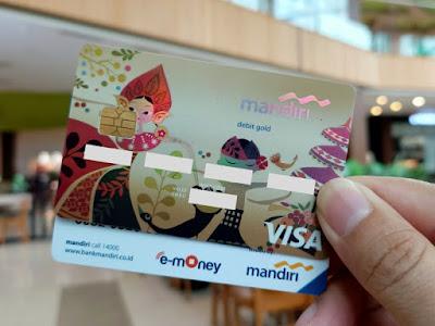 Tabungan Mandiri Now dengan Kartu ATM Gold