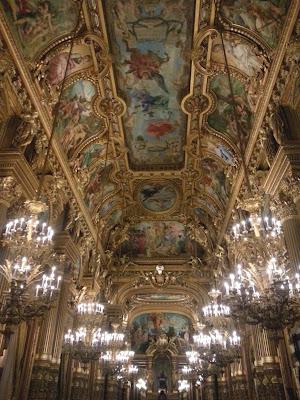 Le Chameau Bleu - Visite de l'opera Garnier à Paris