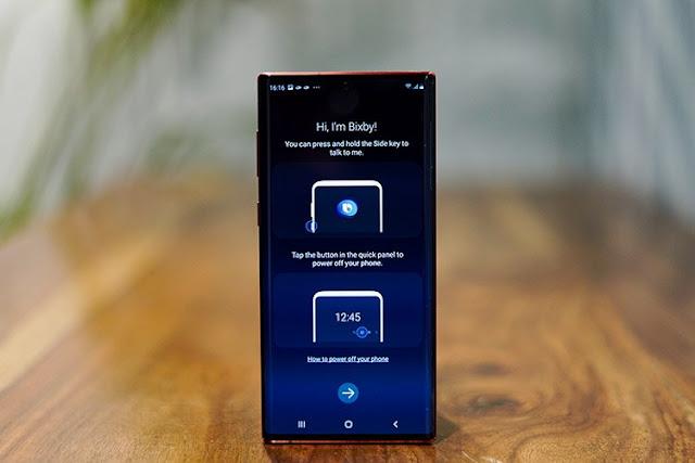 كيفية تعطيل المساعد Bixby من زر الطاقة على النوت 10؟