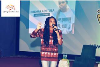 Obioma Adetola Onibata at GDYP Conference