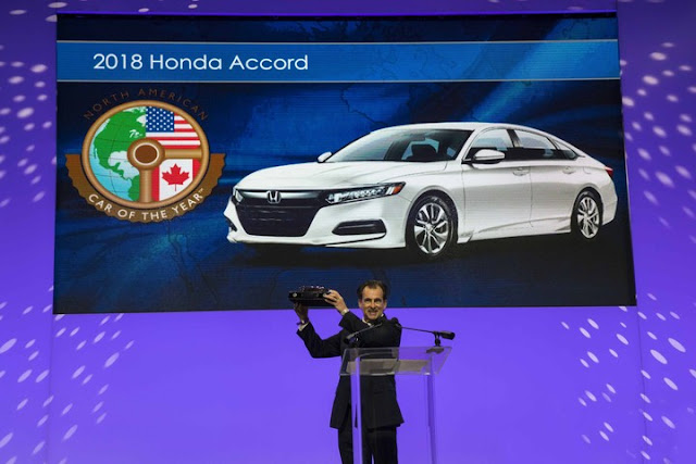 Meet the 2018 North American Car of the Year: the 2018 Honda Accord
