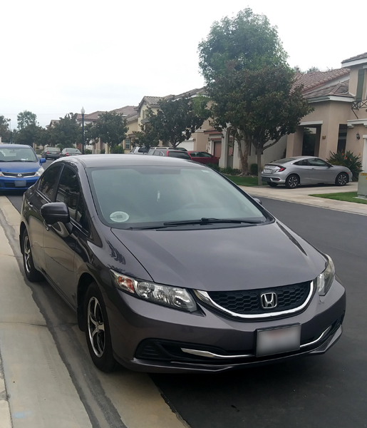 My 2015 Honda Civic is finally paid off...as of September 10, 2020.