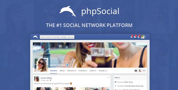 phpSocial v5.4.0 - Social Network Platform