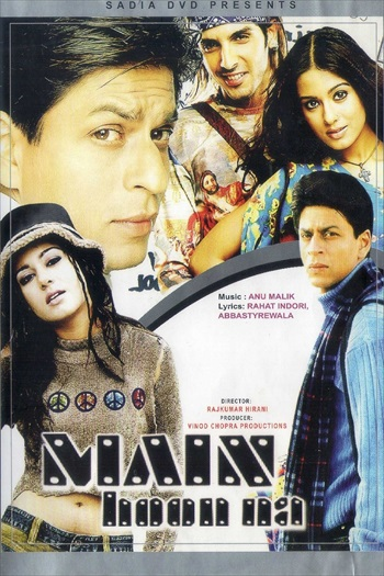 Main Hoon Na 2004 Hindi 480p HDRip 500mb