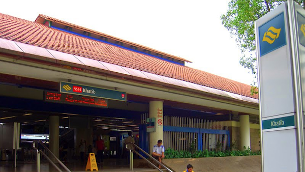Khatib MRT Station nearby The Wisteria