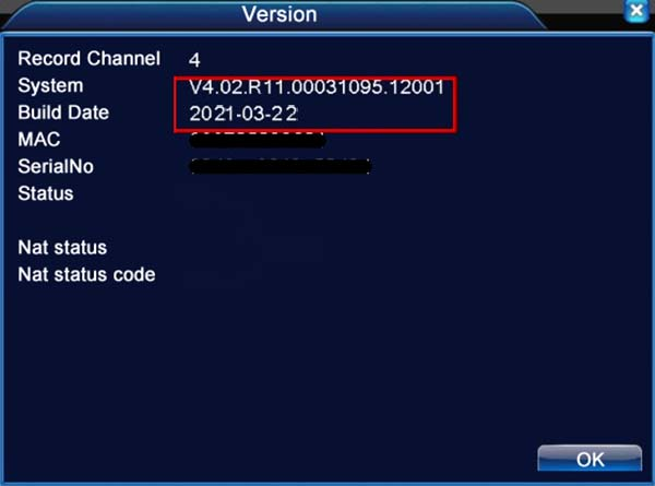 Firmware for Chinese DVR, NVR and security cameras (H.264, H.265)